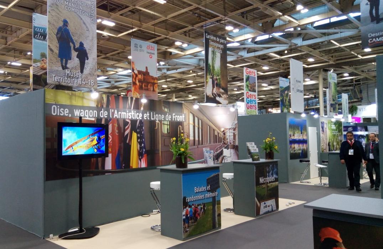 Le wagon de l'Armistice - salon mondial du tourisme